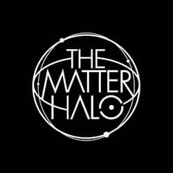 Logo kecil Matter Halo