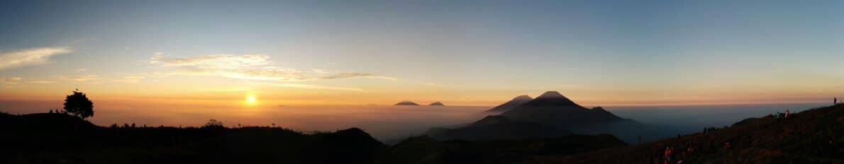 sunrise di prau dari 101minc