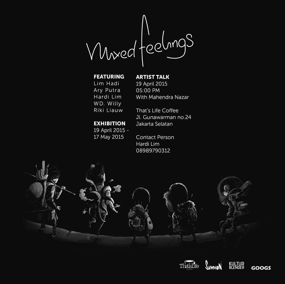 Mixed Feelings 19 April 2015